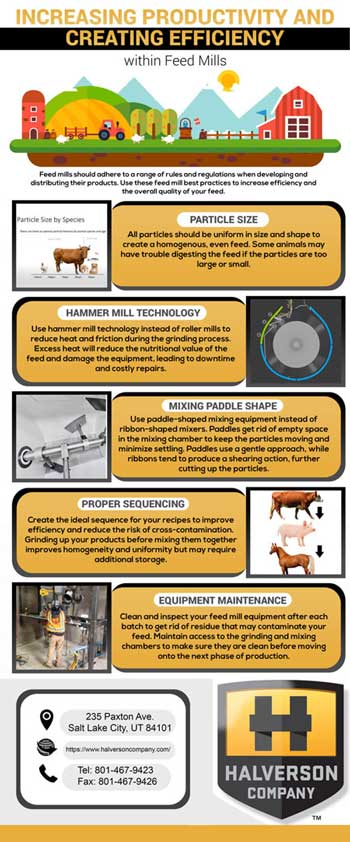 Feed Mill Infographic - Halverson